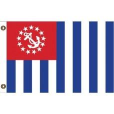 """U.S. Power Squadron Flag - 12"""" X 18"""""""