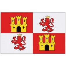 Lions & Castles (Royal Standard of Spain) 3' X 5' Nyl-Glo