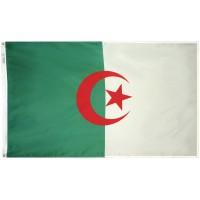 Algeria Flag 3x5 Feet Nylon SolarGuard Nyl-Glo