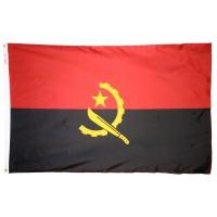 Angola Flag 2x3 Feet Nylon SolarGuard Nyl-Glo