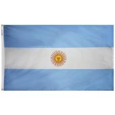 Argentina Flag Nylon SolarGuard Nyl-Glo