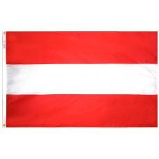 Austria Flag Nylon SolarGuard Nyl-Glo