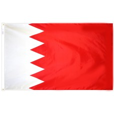 Bahrain Flag Nylon SolarGuard Nyl-Glo