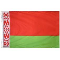 Belarus Flag Nylon SolarGuard Nyl-Glo