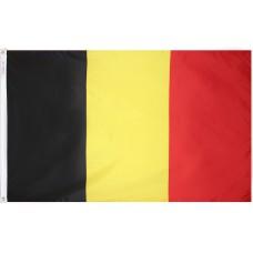 Belgium Flag Nylon SolarGuard Nyl-Glo